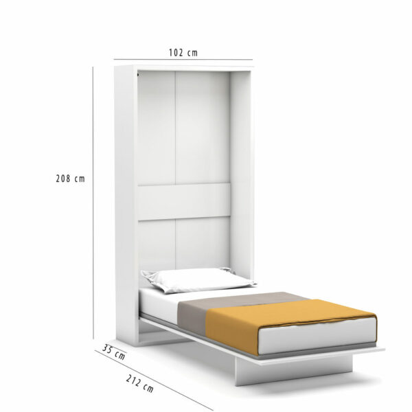 Diva wall bed dimensions